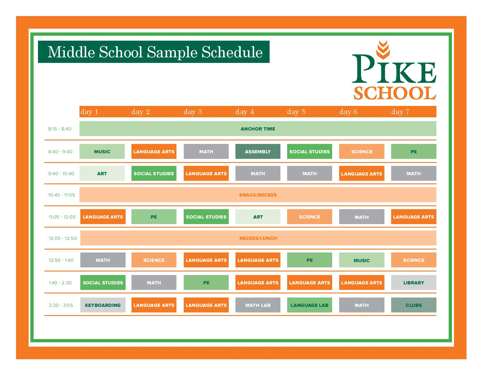 The Pike School: Lower & Middle Schools